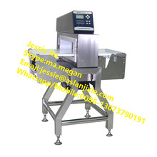 conveyor belt metal detector for detecting foreign metal body in food