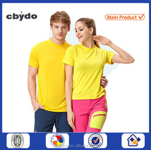 2016 cheapest mens and girls blank royal blue uv color change t-shirt