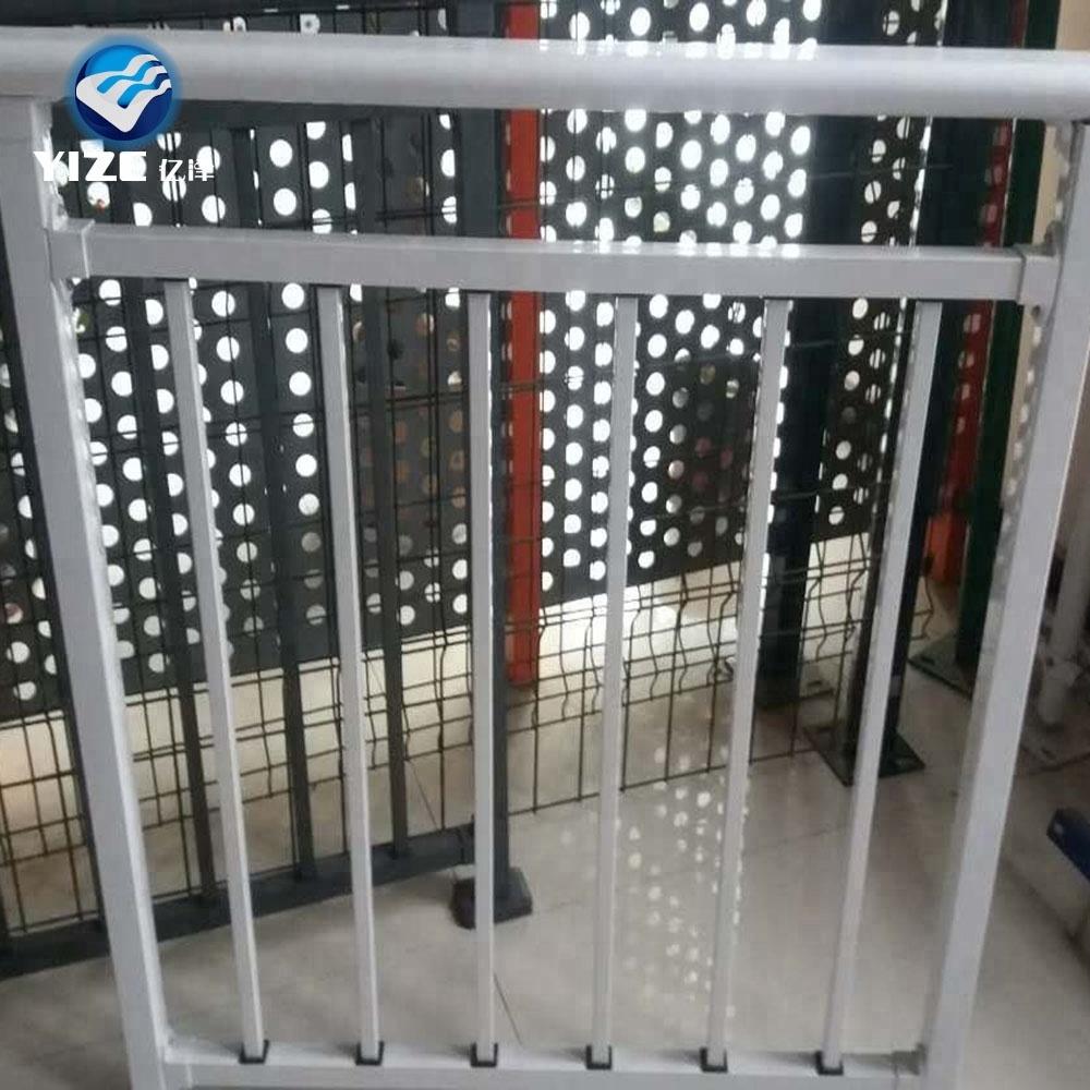 Nuevo Producto Mas Excelente De Metal De Acero Vallas Disenos Para - Vallas-de-metal