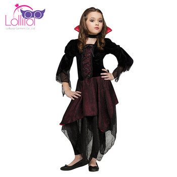 Kids cosplay halloween party costumes fancy dress chinese vampire costumes of vampires