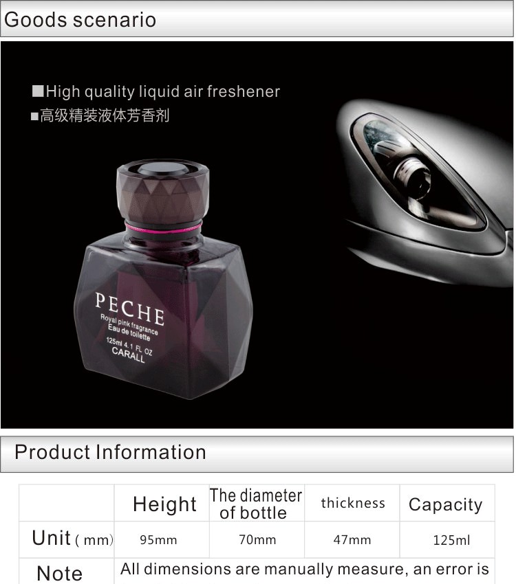 2014 fresh and unique new car smell best perfume with attractive designs
