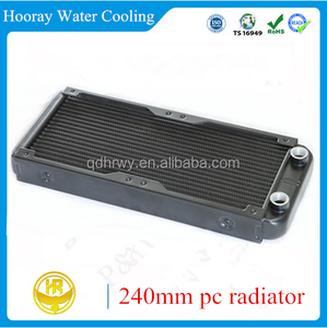 Super-performance 240mm water cooling pc aluminum heat exchanger radiator
