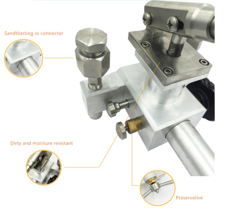 Pressure gauge testing equipment manual air pressure calibrator