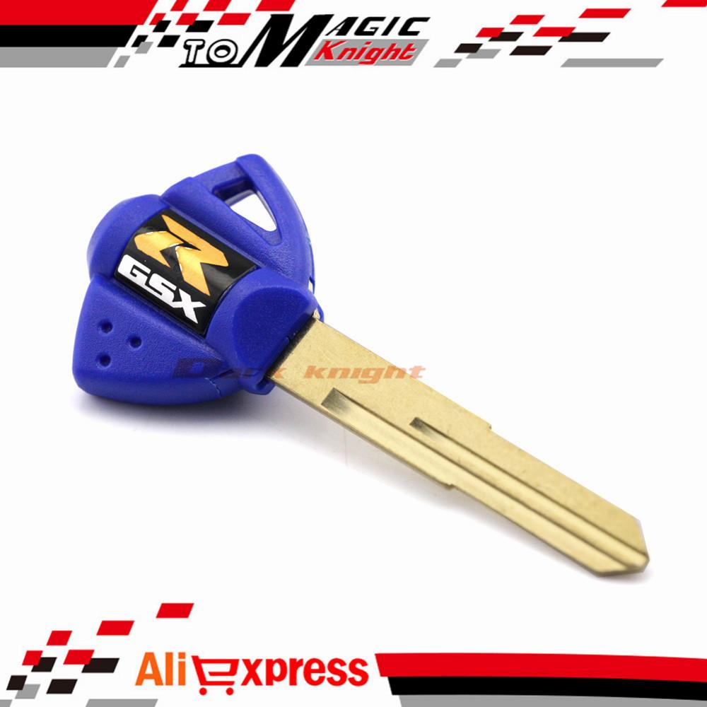 1 шт. ключ пустой синий для SUZUKI GSXR 1000 / 600 / 750 В - Strom DL1000 GSF600 gsx hot