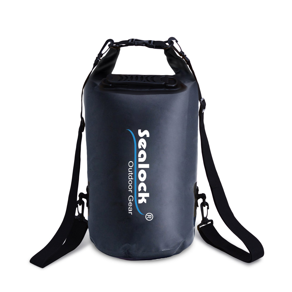 custom logo swim buoy dry bag with valve