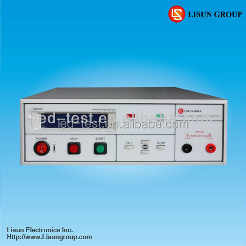 LS9922I Programmable DC Insulation Resistance Tester with High Accuracy and High Stability