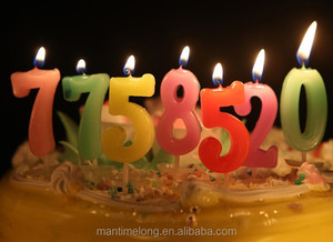 China Number Candle Birthday Party Manufacturers And Suppliers On Alibaba