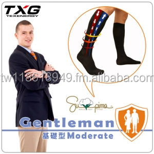 TXG Gentleman ( Supima Cotton ) Compression socks for man