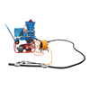 Pan Mixer Gunning Refractory Shotcrete Diesel Shotcreting Tunnel Construction Slope Support Mini Concrete Spraying Machine