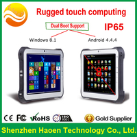 8inch touchscreen pc rugged tablet 3G Rugged Industrial barcode reader NFC UHF LF RFID Windows android rugged tablet pc