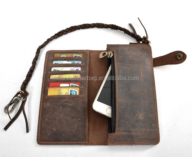 Vintage Genuine Wallet Leather Case For Iphone 6