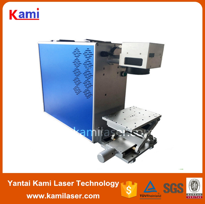 110 x 110mm fiber laser marking machine / picture laser marking machine on metal