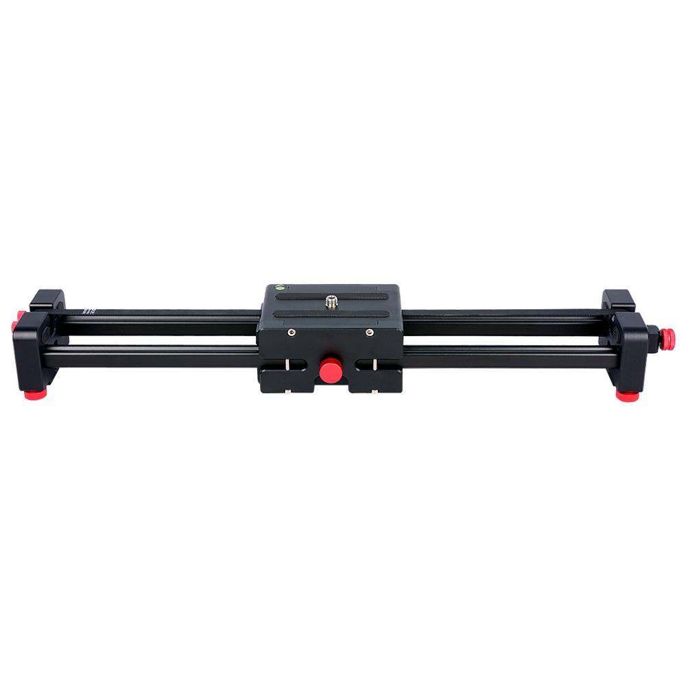 YELANGU Sıcak Satış 50 CM Mini SLR Teleskopik Kaymak Fotoğrafçılık dslr için Taşınabilir Alüminyum Dolly kamera kaymak
