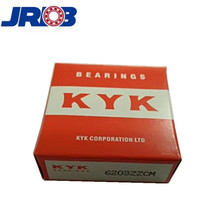 Japan kyk bearing 6203zzcm 14*40*12 mm for high precision machinery