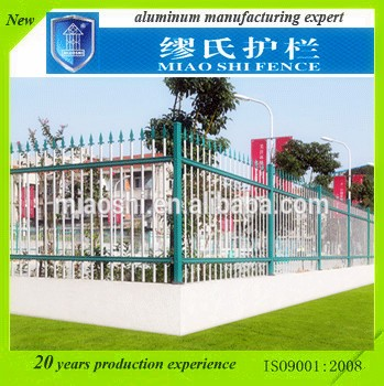 cheap metal stake aluminum alloy die cast fencing