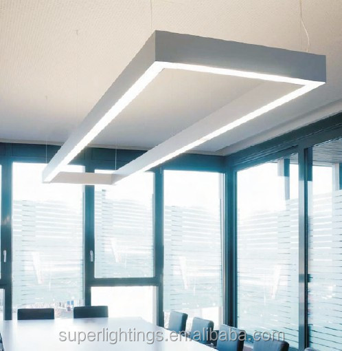 suspended office lighting. Aluminum Profile Suspended Led Linear Lighting System Office - Buy System,Suspended System,Industrial