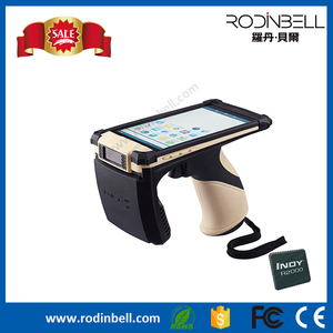 Inventory bluetooth handheld rfid reader with Impinj R2000 UHF module