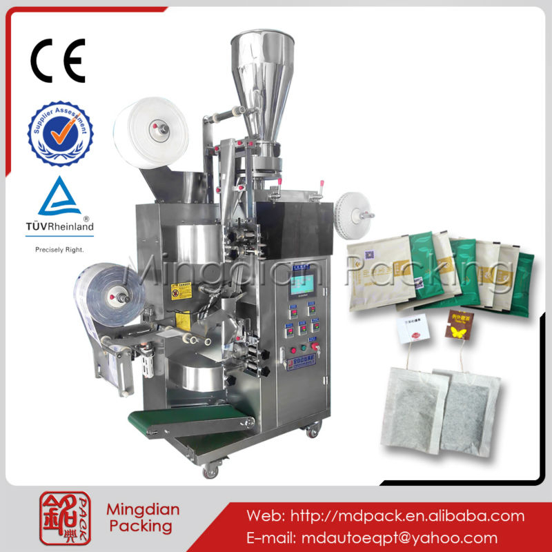 Mingdian MD-168 machinery for biodegradable tea bag packaging