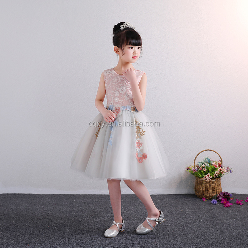 fb4d389fc Cheap Girls Party Fancy Pink Gown Tulle Princess Dresses Flower Girls Kids  Baby Party Pageant Wedding Tulle Tutu Dress