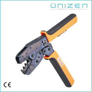 UNIZEN Cheap Bulk Products 0.5-10mm2 Butt-connectors Ratchet Crimping Plier Tool