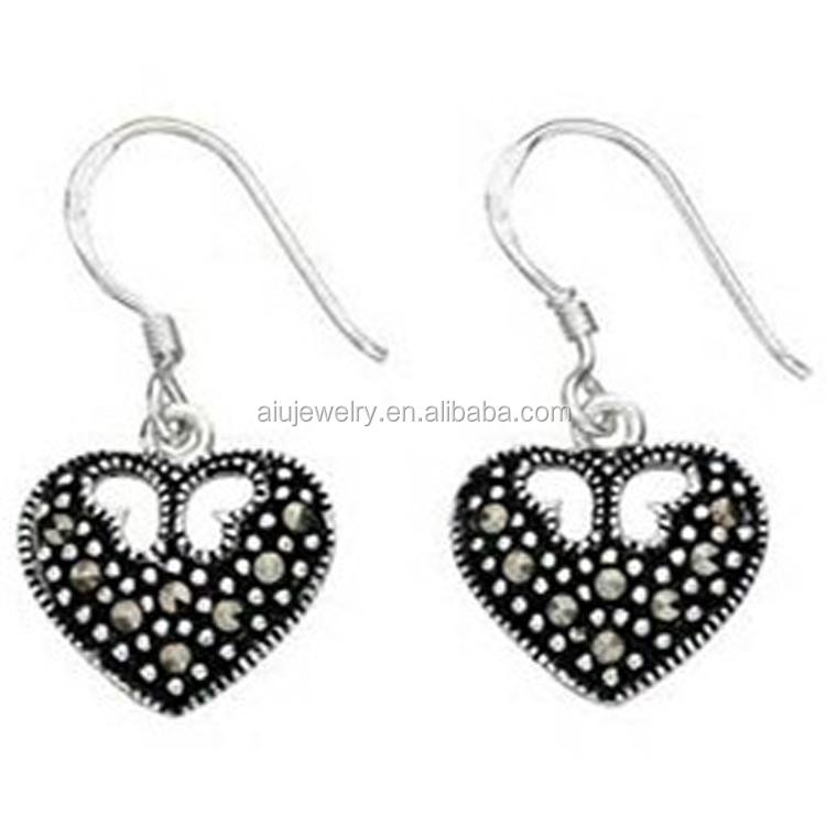 Marcasite earring marcasite earring suppliers and manufacturers at marcasite earring marcasite earring suppliers and manufacturers at alibaba aloadofball Image collections