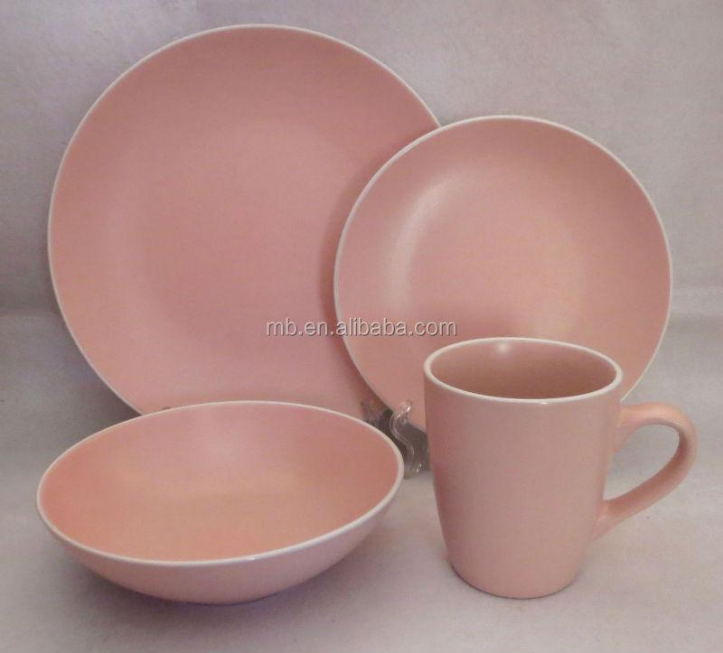Moderne Geschirr Sets. Farbe Matt Stck Ceramicware Gesetzt Stck ...