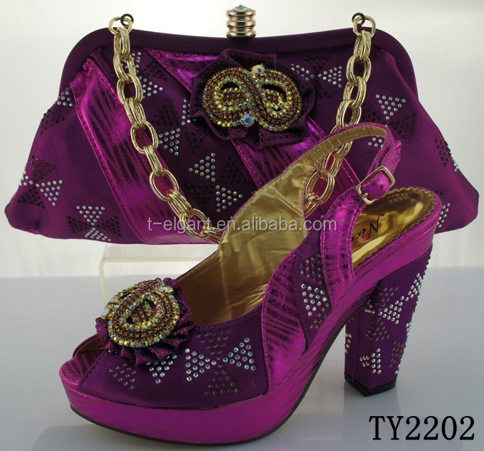 Shoe Italian for Bag and Wholesale Matching Set Party gEYdqwwU