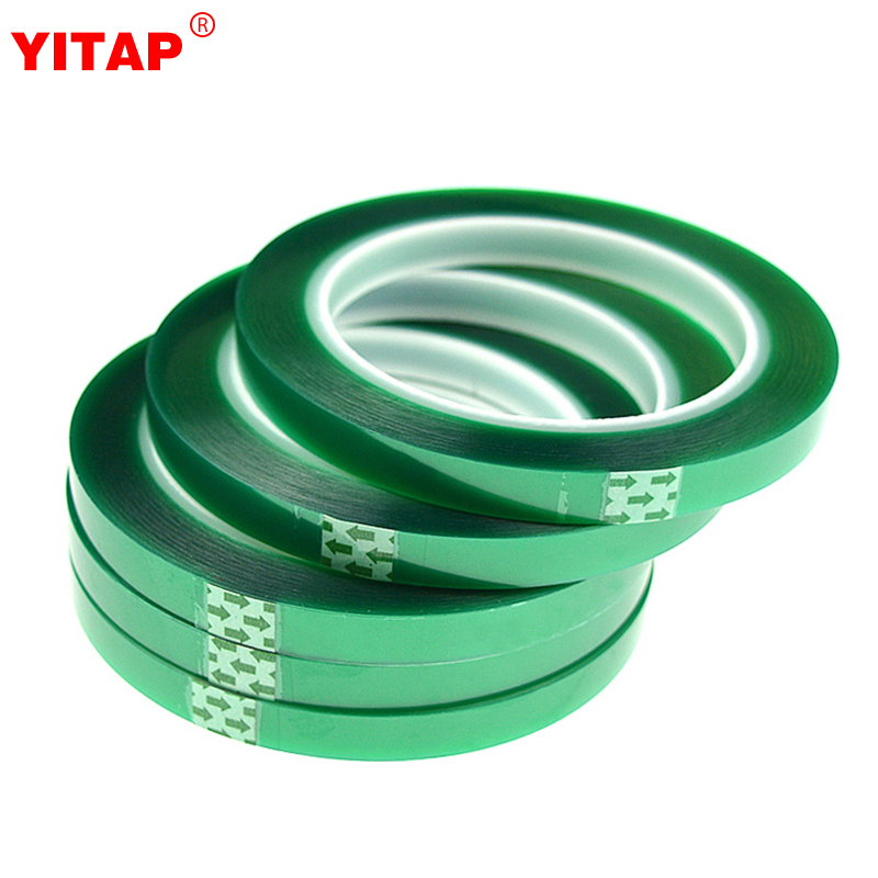 Silicone Adhesive Log Roll Green Pet High Temperature Tape Used For Smt  Line Powder Coating 3d Printer - Buy Green Pet High Temperature Tape,Green  Pet