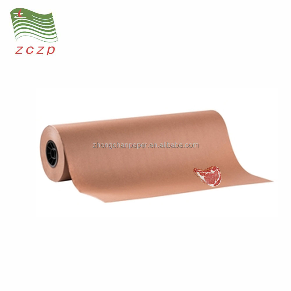 Meat Wrapping Paper, Food Grade PE Coated Kraft Paper