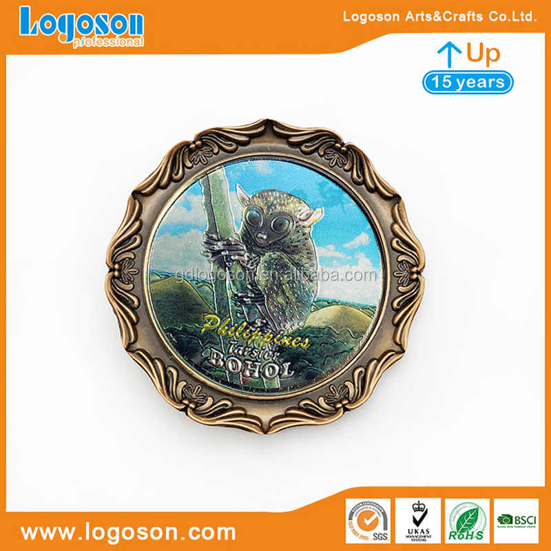 Copper Plate Philippines Souvenir Plate Metal Fridge Magnet Souvenirs Philippines