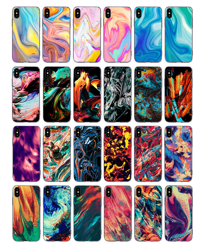 New 2018 Smartphone Accesories TPU PC Mobile Phone Shell Case for iPhone 7 10 X for iPhone X Case