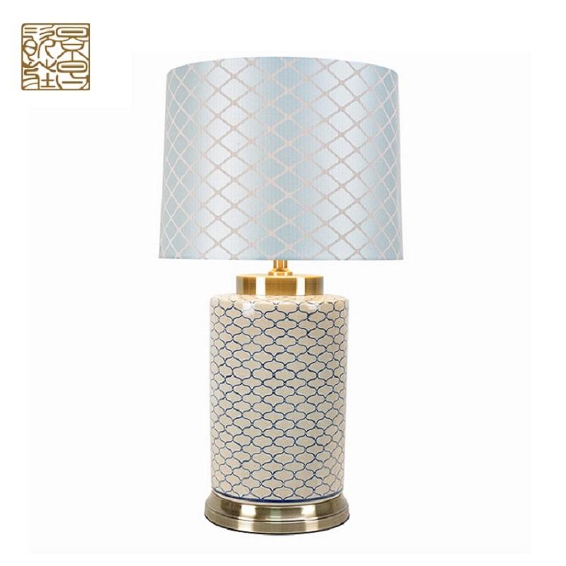 الجملة العتيقة الخزف الصمام مكتب مصباح الرئيسية الديكور الحديث السيراميك الجدول مصباح السرير الجانبية لل ديكور المنزل