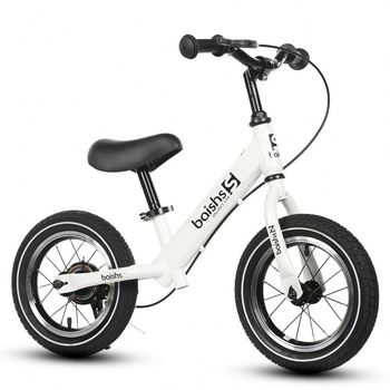 2018 wholesale lovely balance bike for kids/cartoon wooden bike children balance EVA tire/mini balance bike with EN71