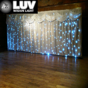 Cheap Price Stage Curtains \ Wedding Backdrop Design