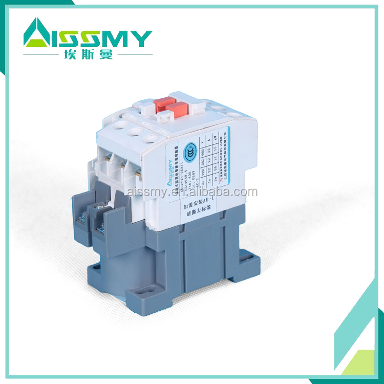 New type high efficiency 98% energy save permanent magnetic AC contactor