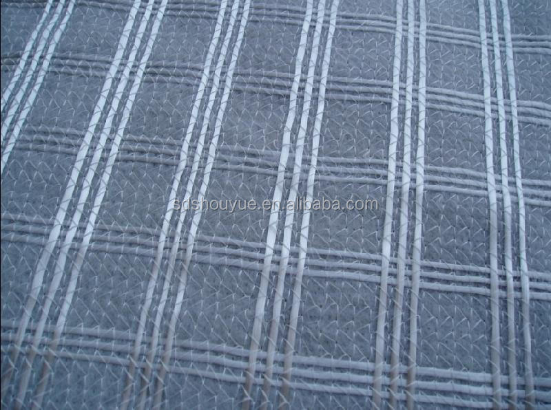 Polyester Geogrid Compound With PP Nonwoven Geotextile for Road Construction