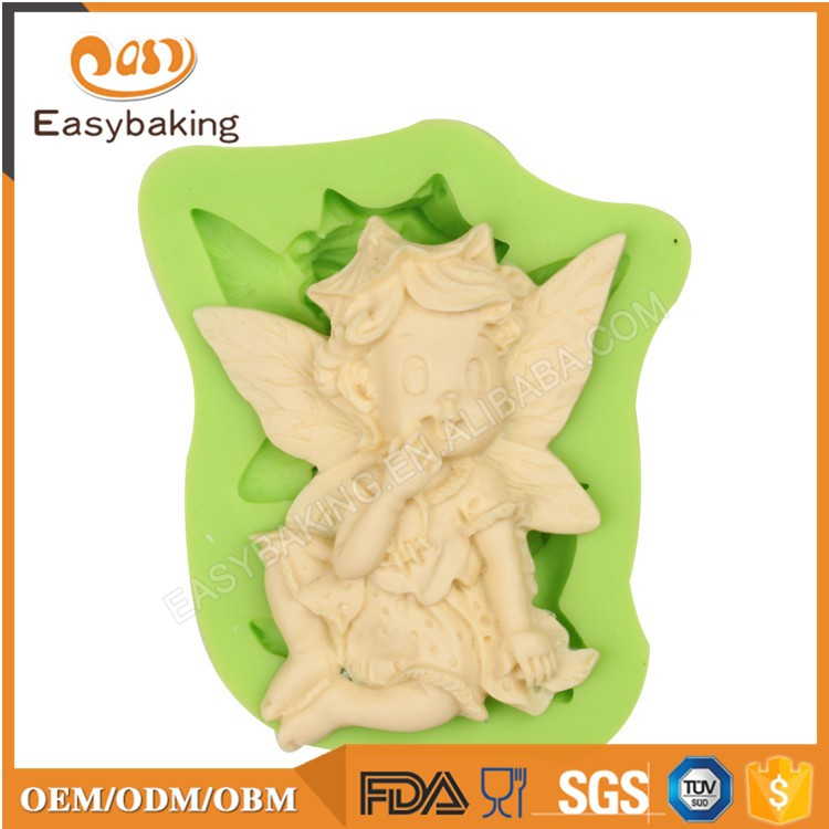ES-1907 Fondant Mould Silicone Molds for Cake Decorating