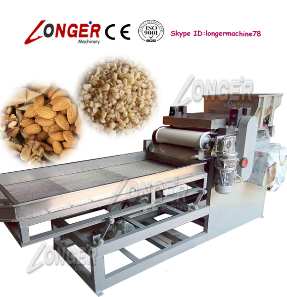 Electric Model Automatic Walnut Chopping and Grading Machine