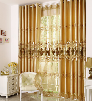 Fancy And Elegant European Style Window Curtains/Fabric Curtains