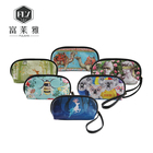 China wholesale customized pvc zip toilet guangzhou cosmetic bag