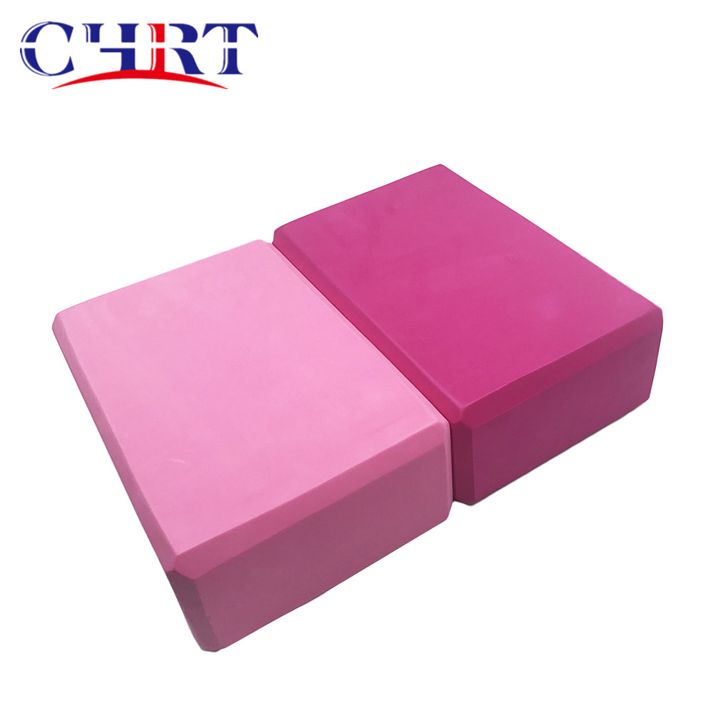 chrt <strong>EVA</strong> Foaming Exercises Fitness Tool Workout Stretching Aid Yoga Block Brick