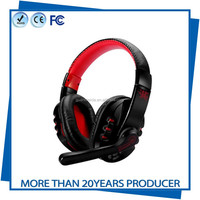 Professional PC LED Light Gaming Headset Virtual Surround Stereo Wireless Bluetooth Headset