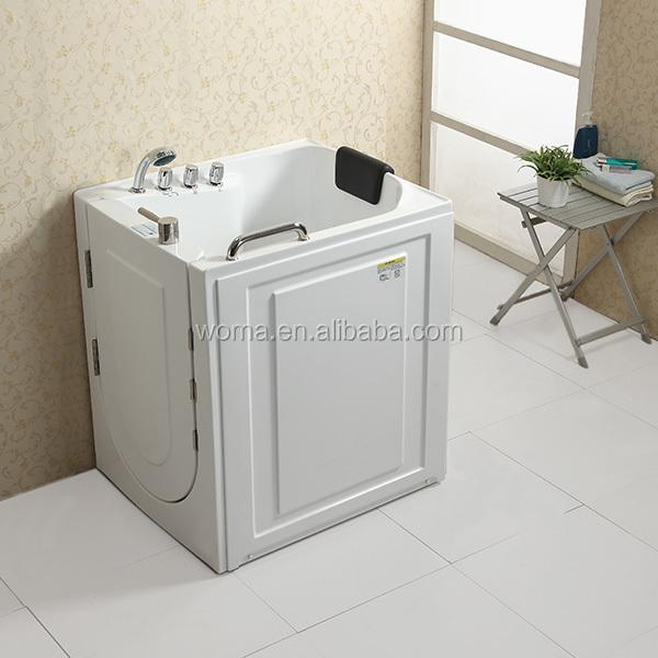 WOMA Q316N CUPC Certificate Small Size Portable Elderly Walk In Bathtub