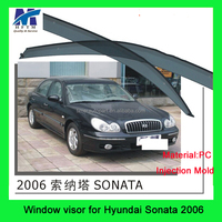 Quality Assurance auto Accessories PC Material window visor compatible for sonata hyundai spare parts