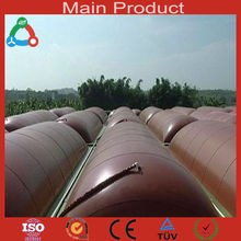 Chinese wholesale PVC foldable biogas project biogas storage bag