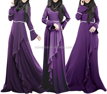New Trendy Elegant Muslim Women Party Dress - Buy Elegant Muslim ...