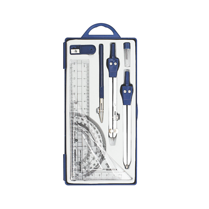 Professional Metal Compass Set for Geometry