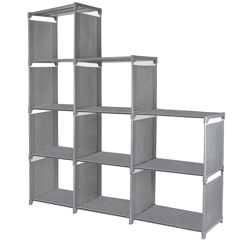 Get Quotations 9 Cube Storage Shelves Sjhl Diy Modular Closet Organizer Unit And Bookshelf Cabinet For Clothes