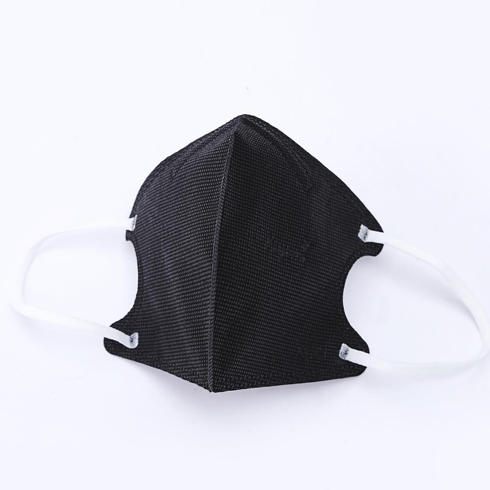 Ffp2 Standard Anti Smoke Disposable Black Face Mask ...