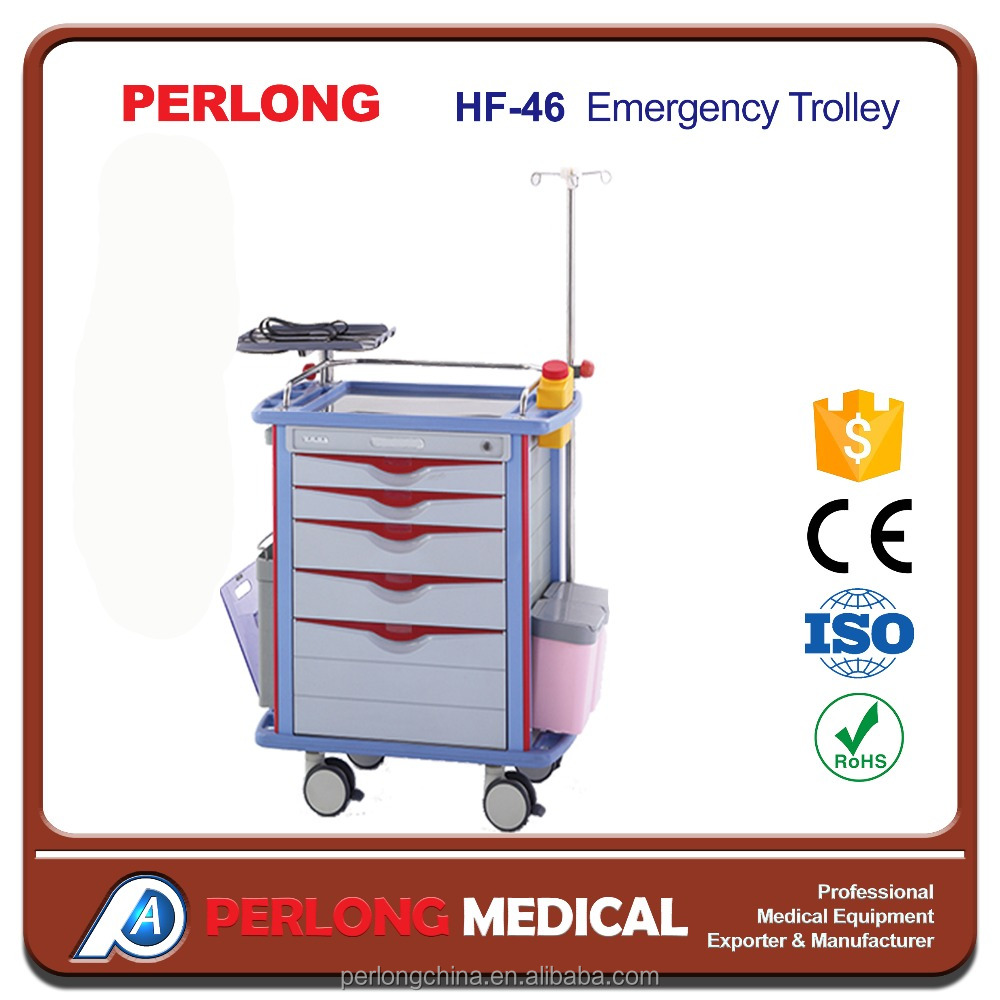 ICU Emergency trolley hospital service Emergency trolley for trading